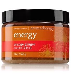 Bath & Body Works - Orange Ginger Sugar Scrub ENERGY